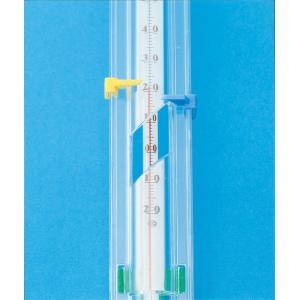 万能型棒温度計C型 サイズ:35.7cm 測定温度:−20℃〜110℃ /理科 実験 小学校 自由研究|gakurin