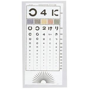 視力表 中村式 検査距離5m gakurin