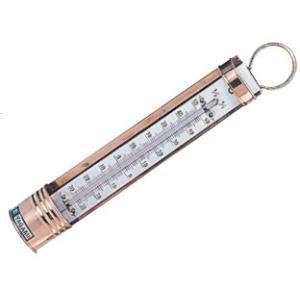 銅枠付 測定範囲:−30〜50℃、1/1℃目盛 長さ:約23cm ※使用後は水洗いして下さい。  □...
