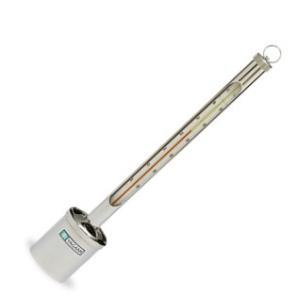 測定範囲:−10〜40℃、1/1℃目盛 長さ:約35cm 枠の材料:真鍮性クロームメッキ おもりつり...