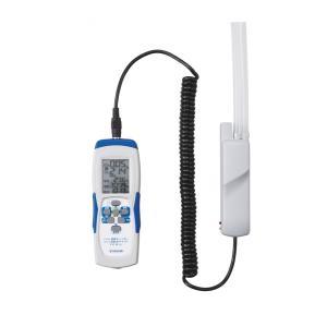(在庫アリ)デジタル気体チェッカー (CO2・O2・温・湿度・気圧データロガー)