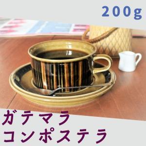 ガテマラ・コンポステラ 自家焙煎 コーヒー豆 [豆のまま] □産地:ガテマラ・ウエウエテナンゴ □内容量:200g|gakuzancoffee