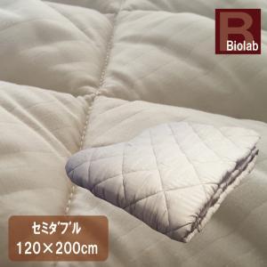 ベッドパッド セミダブル(120×200cm) 抗菌防臭 丸洗い 洗える ウォッシャブル ベットパット ベットパッド|galette-des-rois