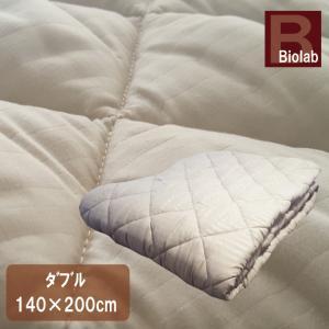 ベッドパッド ダブル(140×200cm) 抗菌防臭 丸洗い 洗える ウォッシャブル ベットパット ベットパッド|galette-des-rois