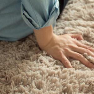 パイルカットラグ ラグ ラグマット 190×190cm 無地ラグ カーペット ラグ マット  洗える  絨毯 じゅうたん シャギー|galette-des-rois