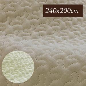 イブル キルティングマット 240×200cm 韓国の布団 夏はさらっと、冬は暖かく、オールシーズン ベビー お昼寝 Instagram ラグ ベビー|galette-des-rois