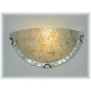 照明 照明器具 ブラケット LED 壁掛け照明  新品 アンティーク調 貝殻ガラス細工ブラケット  おしゃれ 豪華 アンティーク ライト インテリア|galle0105