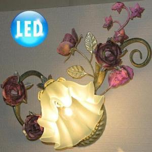 照明 照明器具 ブラケット LED 壁掛け照明  新品 可愛いアンティーク調ブラケット照明 照明器具 照明 ブラケット LED 豪華