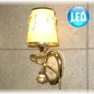照明 照明器具 ブラケット LED 壁掛け照明  新品 LED付きシンプルデザインガラスブラケット おしゃれ 豪華 アンティーク ライト インテリア|galle0105