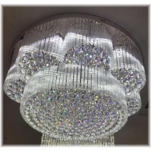 【お申込み見積価格】超豪華!大型オーダークリスタルシャンデリア 照明 照明器具LED 天井照明 ペンダント ライト 豪華 天井 おしゃれ アンティーク