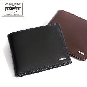 財布 ポーター PORTER 折り財布 さいふ サイフ シーン PORTER SHEEN ポ-タ- 二つ折り財布 小銭入れなし 110-02928 メンズ|galleria-onlineshop
