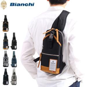 ビアンキ ボディバッグ Bianchi バッグ 斜めがけ ワンショルダーバッグ DIBASE メンズ...