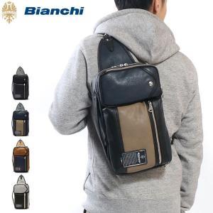 ビアンキ Bianchi バッグ ボディバッグ 3WAY ショルダー クラッチ ワンショルダーバッグ...