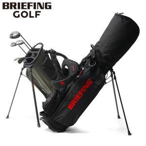 レビューでQUO 日本正規品 ブリーフィング ゴルフ BRIEFING バッグ キャディバッグ スタ...