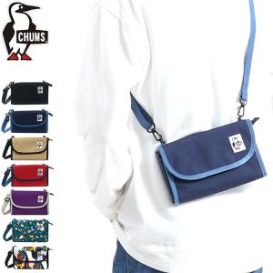 CHUMS/チャムス/Eco Bellows Pocketbook Shoulder/エコベロウズポ...