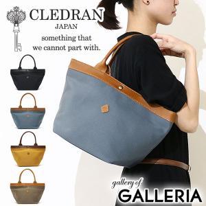 当店限定 コラボモデル クレドラン CLEDRAN バッグ トートバッグ CL-2657 ナイロンコットン レディース|galleria-onlineshop