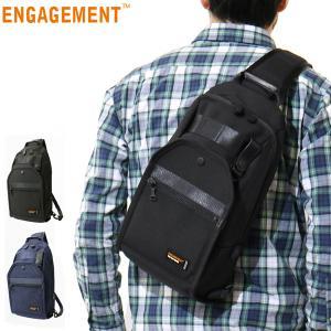 エンゲージメント ENGAGEMENT ショルダーバッグ ボディバッグ メンズ EGBB-001