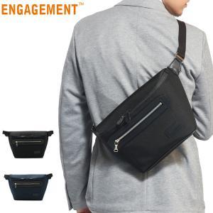 P39倍★5/19限定 正規品1年保証 ENGAGEMENT エンゲージメント ウエストバッグ バッグ WAIST BAG ボディバッグ 斜めがけ EGWB-001 メンズ galleria-onlineshop