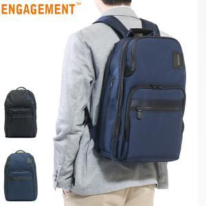 P34倍★5/19限定 ENGAGEMENT エンゲージメント バックパック リュックサック PC収納 B4 通勤 ビジネス EGBP-008 メンズ galleria-onlineshop