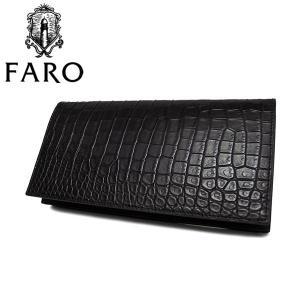 FARO ファーロ faro SILVIO クロコダイル 長財布 財布 メンズ FRO617228|galleria-onlineshop
