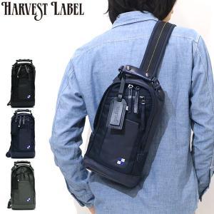 ハーヴェストレーベル ボディバッグ HARVEST LABEL Bullet Line バレットライン 斜め掛け HB-0425 メンズ ワンショルダー...