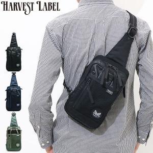 ハーヴェストレーベル ボディバッグ HARVEST LABEL ハーベストレーベル CUSTOM タテ型 HC-0102 メンズ カスタム...