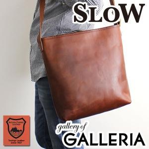 スロウ SLOW ショルダー DOUBLE OIL shoulder bag Lsize 斜めがけ ダブルオイル メンズ レディース 栃木レザー 革 306S29D|galleria-onlineshop