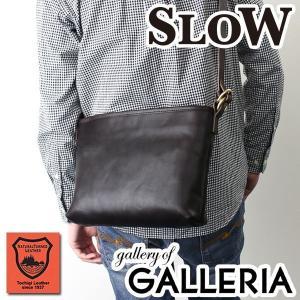 スロウ SLOW ショルダー DOUBLE OIL shoulder bag Ssize 斜めがけ ダブルオイル メンズ レディース 栃木レザー 革 306S30D|galleria-onlineshop