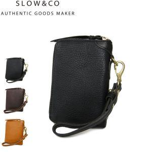 SLOW スロウ bono ボノ 二つ折り財布 ラウンドジップ ラウンドファスナー 333S11405|galleria-onlineshop