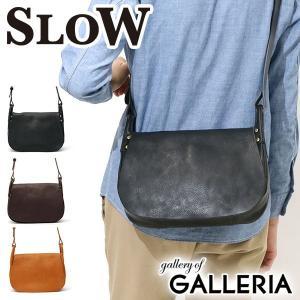 スロウ 2WAY ショルダーバッグ SLOW bono ボーノ hunting shoulder bag S 本革 49S103F メンズ レディース|galleria-onlineshop