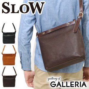 スロウ 2WAY ショルダーバッグ SLOW bono ボーノ 2way shoulder bag S 本革 49S105F メンズ レディース|galleria-onlineshop