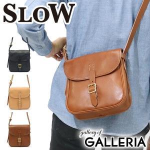 スロウ ショルダーバッグ SLOW bono ボーノ hunting shoulder bag S  BONO limited 本革 49S109F メンズ レディース ミニショルダー|galleria-onlineshop