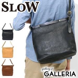 スロウ 2WAY ショルダーバッグ SLOW bono ボーノ 2way shoulder bag BONO limited 本革 49S110F メンズ レディース|galleria-onlineshop