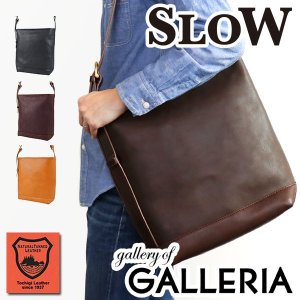 スロウ ショルダーバッグ SLOW bono one shoulder bag 斜めがけ ボノ メンズ レディース 栃木レザー 革 49S52E|galleria-onlineshop
