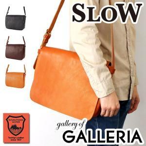 スロウ ショルダーバッグ SLOW bono Mail shoulder bag Lsize 斜めがけ ボノ メンズ レディース 栃木レザー 革 49S53E|galleria-onlineshop