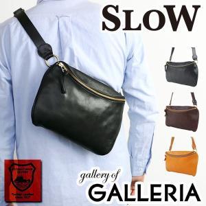 スロウ ショルダーバッグ SLOW bono waist bag 斜めがけ ボノ メンズ レディース 栃木レザー 革 49S54E ミニショルダー|galleria-onlineshop