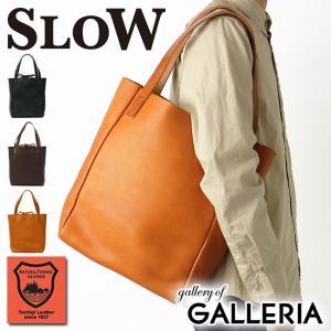スロウ トートバッグ  トート SLOW bono Tote Bag A4 ボノ メンズ レディース 栃木レザー 革 49S75E|galleria-onlineshop