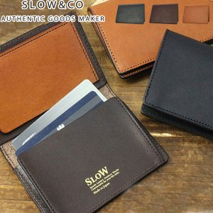 SLOW カードケース スロウ ダブルオイル DOUBLE OIL レザー 革 メンズ レディース card case S0608D|galleria-onlineshop