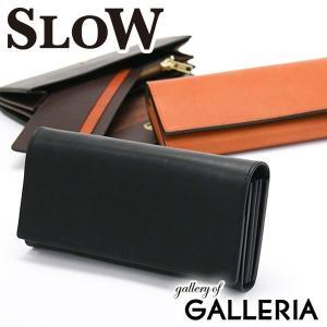 スロウ 財布 SLOW 長財布 DOUBLE OIL flap long wallet メンズ SO622F 本革 レディース|galleria-onlineshop