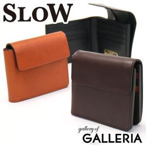 スロウ 財布 SLOW 二つ折り財布 DOUBLE OIL flap hold wallet メンズ SO623F 本革 レディース|galleria-onlineshop