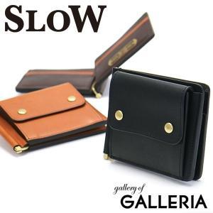 スロウ 財布 SLOW マネークリップ DOUBLE OIL money clip wallet メンズ SO624F 本革 レディース|galleria-onlineshop