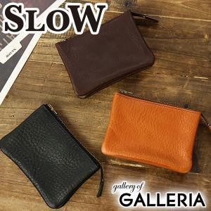 スロウ 財布 SLOW 財布 bono ボノ コインケース multi wallet S メンズ レディース SO629F 本革|galleria-onlineshop