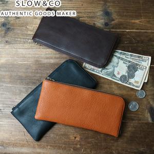 スロウ 財布 SLOW 長財布 bono ボーノ long wallet メンズ レディース SO630F 本革|galleria-onlineshop