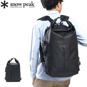 snow peak/スノーピーク/バッグ/4WAY/リュック/バックパック/リュックサック/ショルダ...