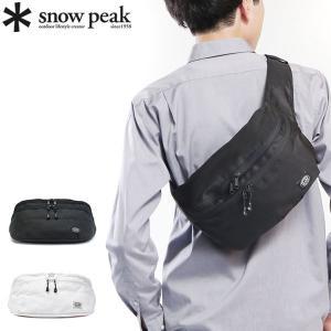 snow peak/スノーピーク/バッグ/ウエストバッグ/ボディバッグ/リュックサック/バックパック...