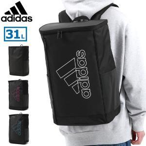 アディダス リュック adidas リュックサック 通学 大容量 バックパック B4 A4 31L ボックス スクエア ブランド メンズ レディース 57575の画像