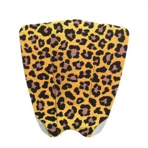 デッキパッド  サーフィン デッキパット デッキパッチ おしゃれ 柄物 柄 ヒョウ柄 豹柄 高品質 粘着力 3M 3ピース シンプル グリップ力|galleries