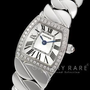 カルティエ ミニラドーニャ ダイヤモンド K18WGホワイトゴールド WE60085G Cartier 時計 gallery-rare