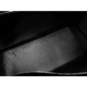 エルメス ハンドバッグ ケリー32 外 ブラック クロコ B HERMES|gallery-rare|03