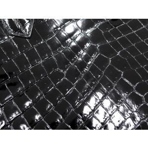 エルメス バーキン30 cm ハンドバッグ ブラック×シルバー金具 クロコダイル ニロティカス シャイン Q刻印 HERMES Birkin バッグ 黒|gallery-rare|06